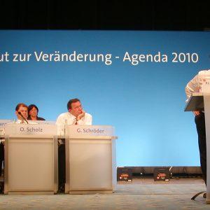 Rede von Harald Schartau während der Regionalkonferenz West