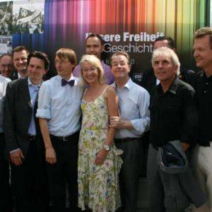 Franz Müntefering und die Kölner SPD beim CSD