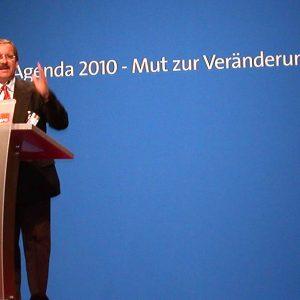 Rede von Harald Schartau während des Bundesparteitages am 06. 01. 03 in Berlin