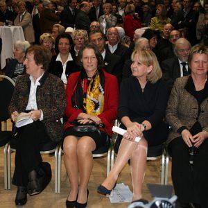 Von links: Anke Fuchs, Christina Rau, Hannelore Kraft und Sylvia Löhrmann