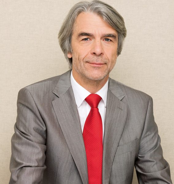 Porträtfoto von Hans Feuß