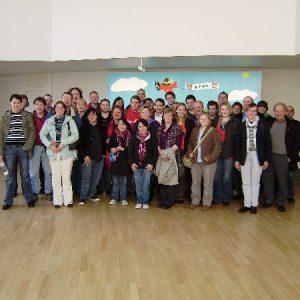 Zahlreiche Neumitglieder nahmen an der Führung teil