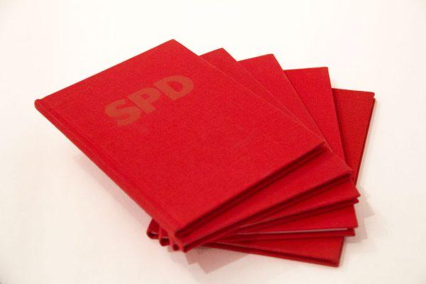 Parteibücher SPD
