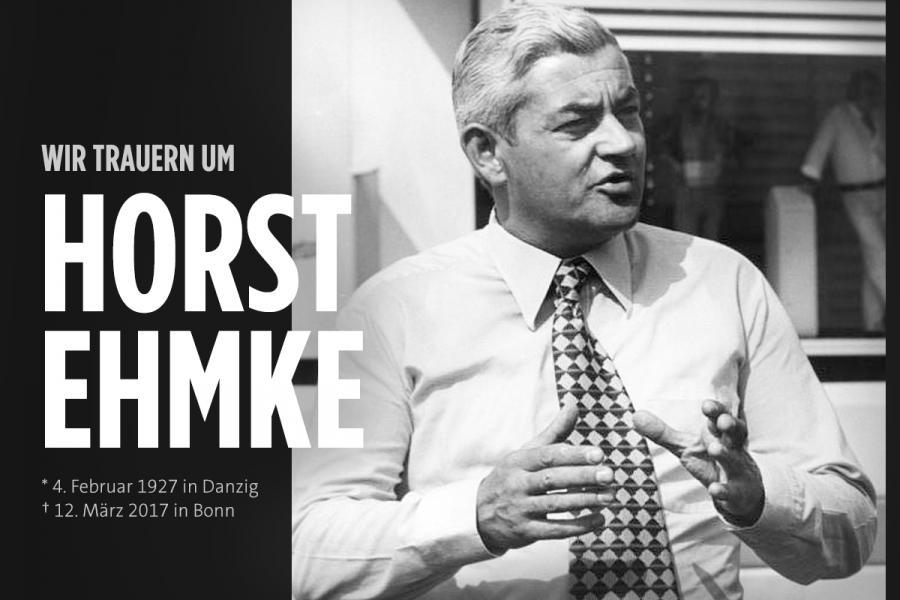 Trauer um Horst Ehmke
