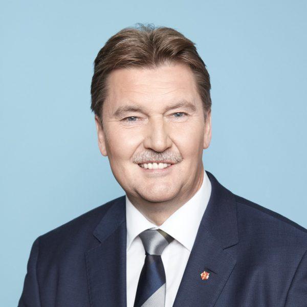 Porträtfoto von Jürgen Berghahn, SPD NRW