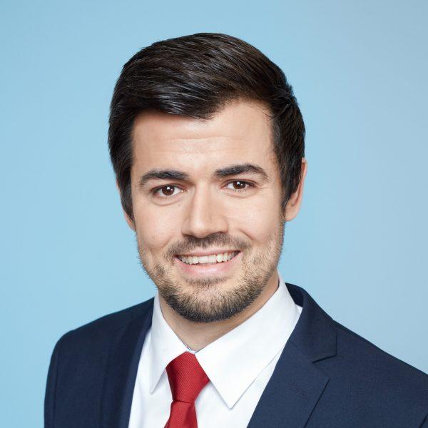 Porträtfoto von Marcel Franzmann, SPD NRW