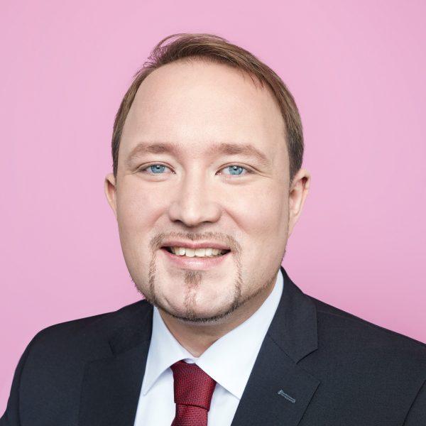 Porträtfoto von Christoph Grundmann, SPD NRW