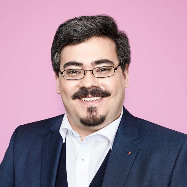 Porträtfoto von Gabriel Kunze, SPD NRW