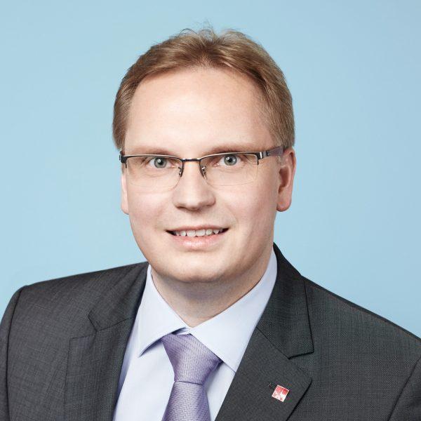 Porträtfoto von Dennis Maelzer, SPD NRW