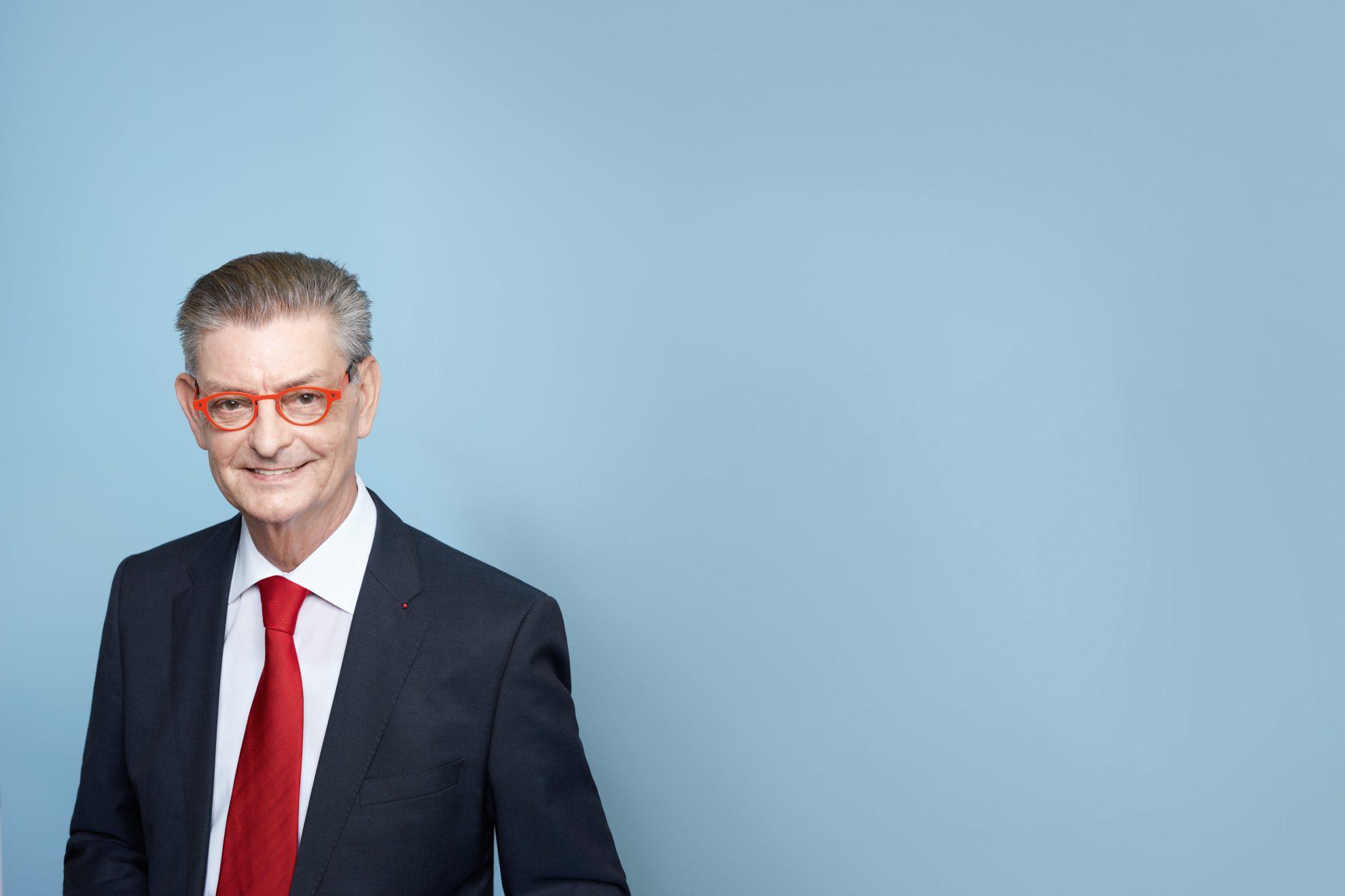 Porträtfoto von Norbert Römer, SPD NRW