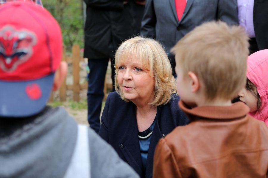Hannelore Kraft im Gespräch
