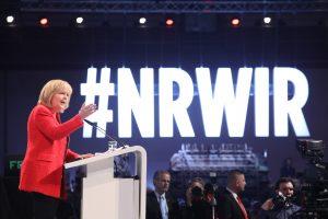Hannelore Kraft bei ihrer Rede zum Wahlkampfauftakt #NRWIR