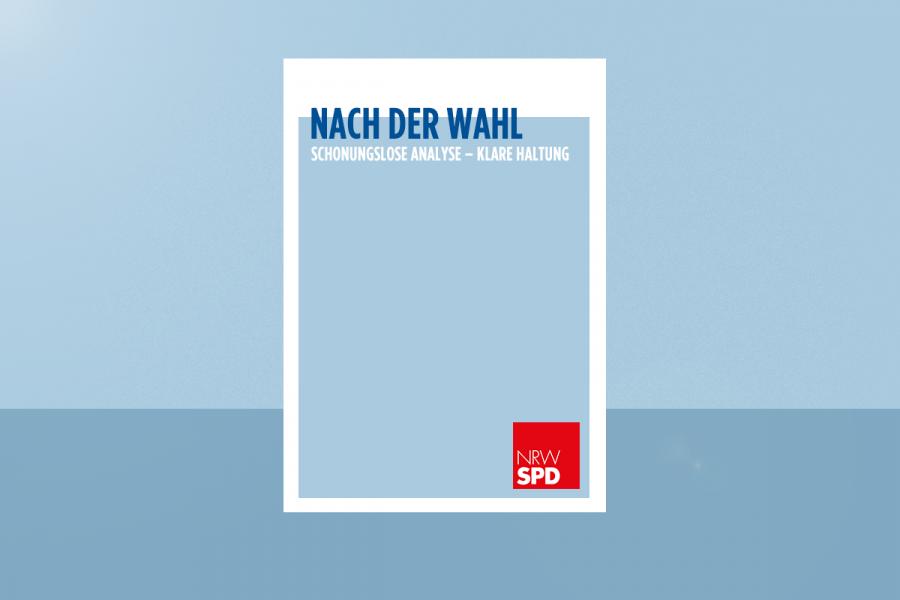 """Beitragsbild zur Erneuerung mit dem Slogan """"Nach der Wahl Schonungslose Analyse - Klare Haltung"""