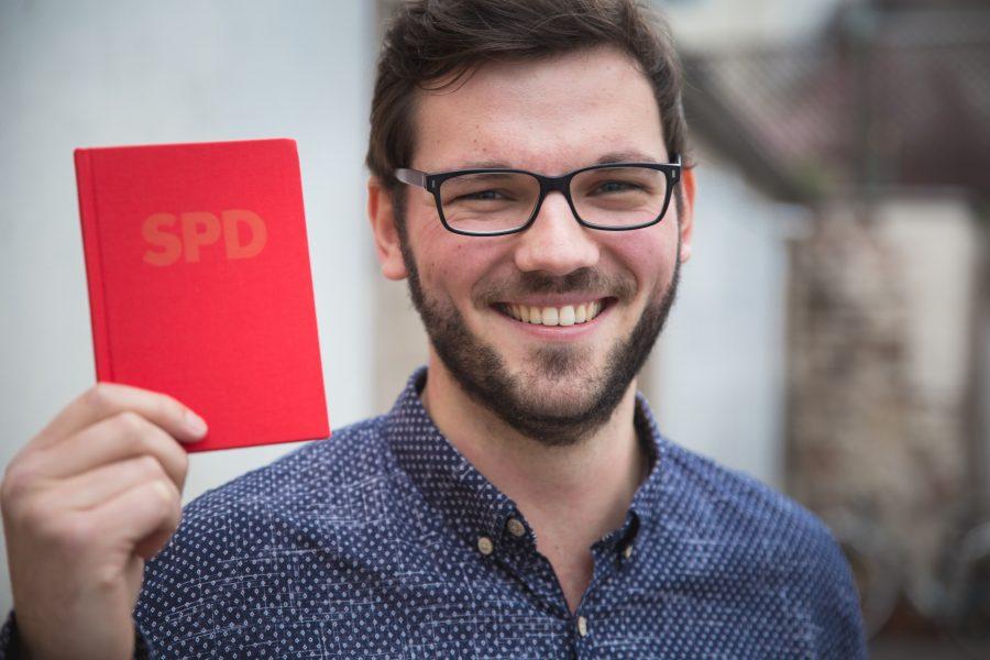 SPD-Neumitglied Marcel