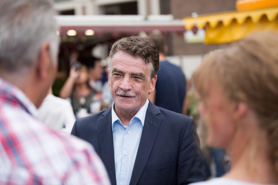 Michael Groschek im Gespräch mit Bürgern