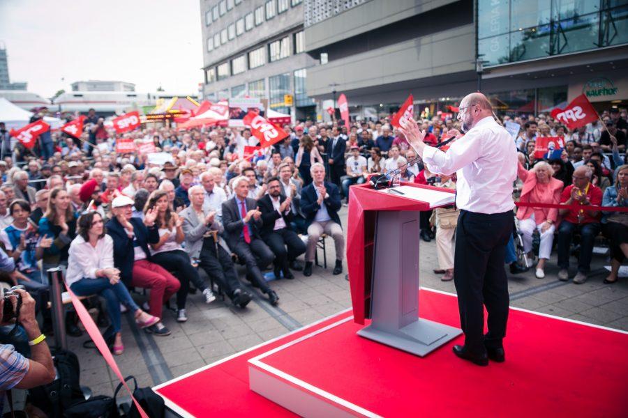 Martin Schulz in Essen