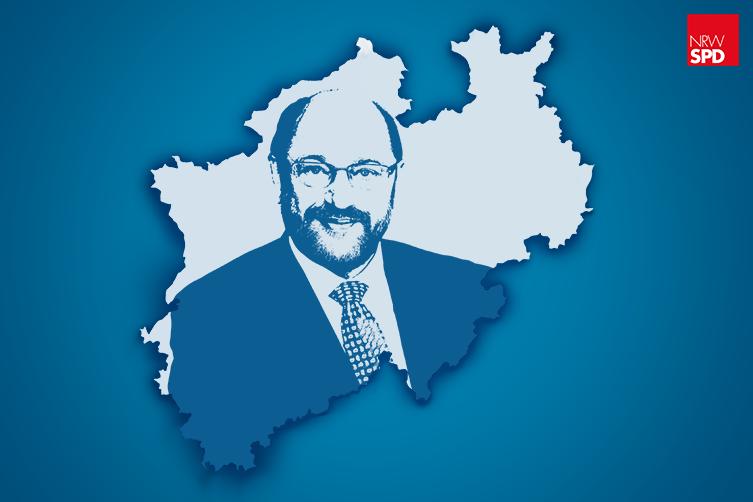 Martin Schulz in NRW