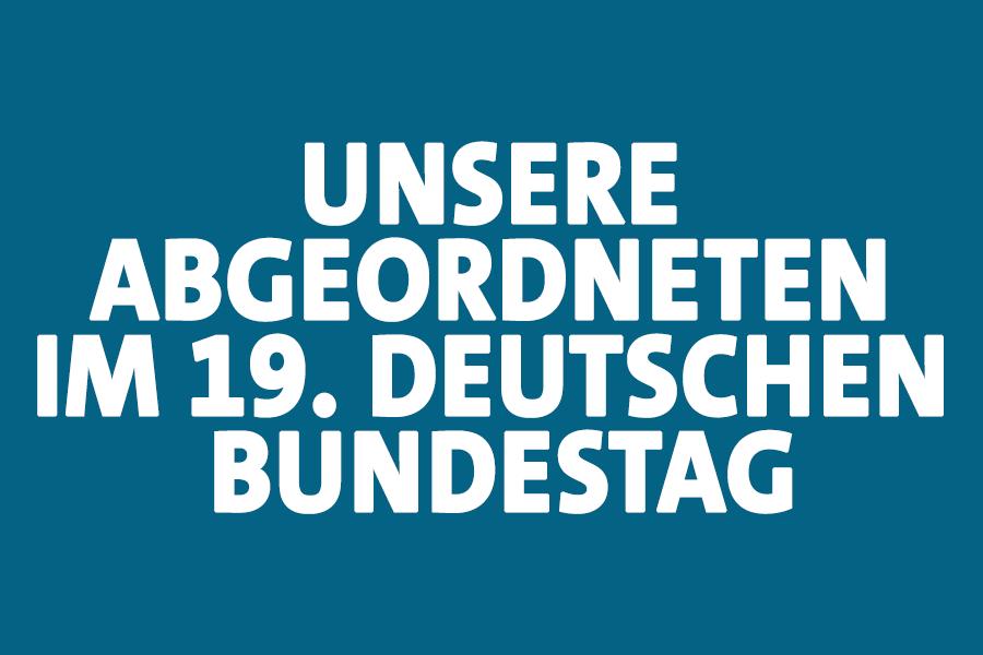 Abgeordnete aus NRW im 19. Deutschen Bundestag