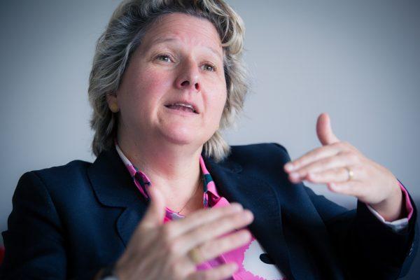Svenja Schulze im Gespräch