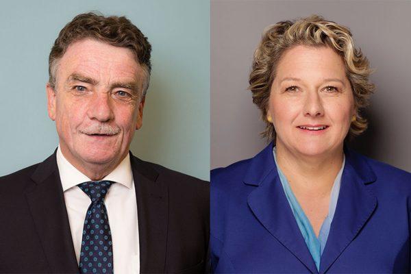 Mike Groschek und Svenja Schulze Portrait