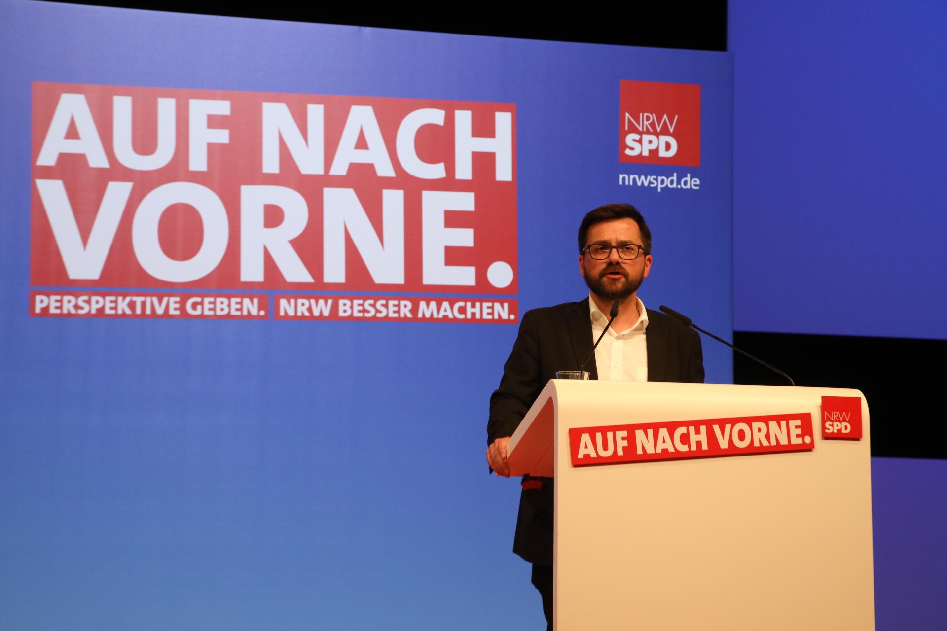 Thomas Kutschaty bei seiner Rede