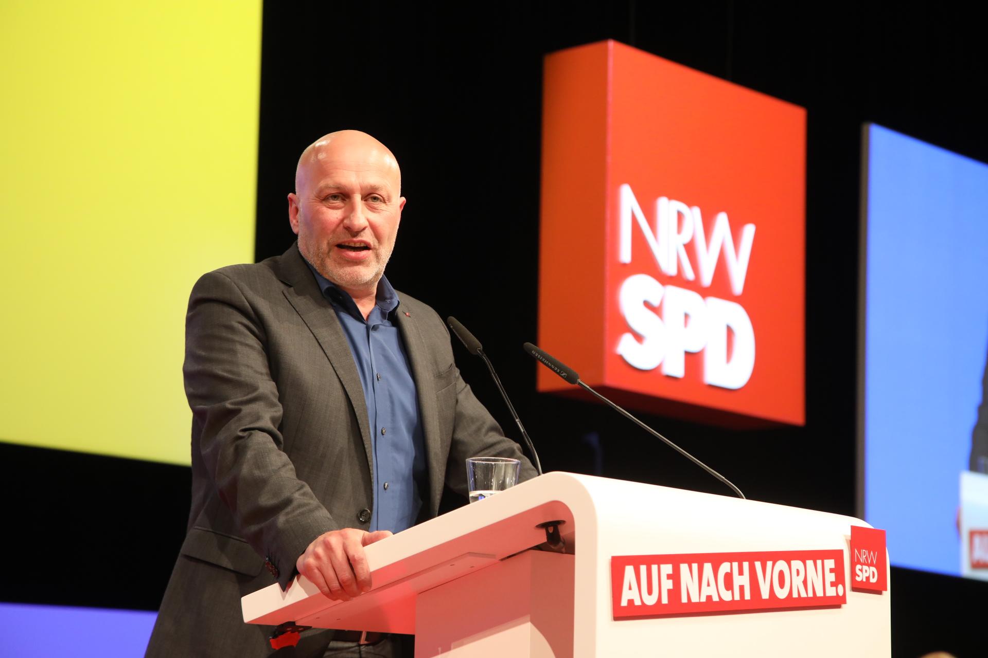 Redner beim Landesparteitag