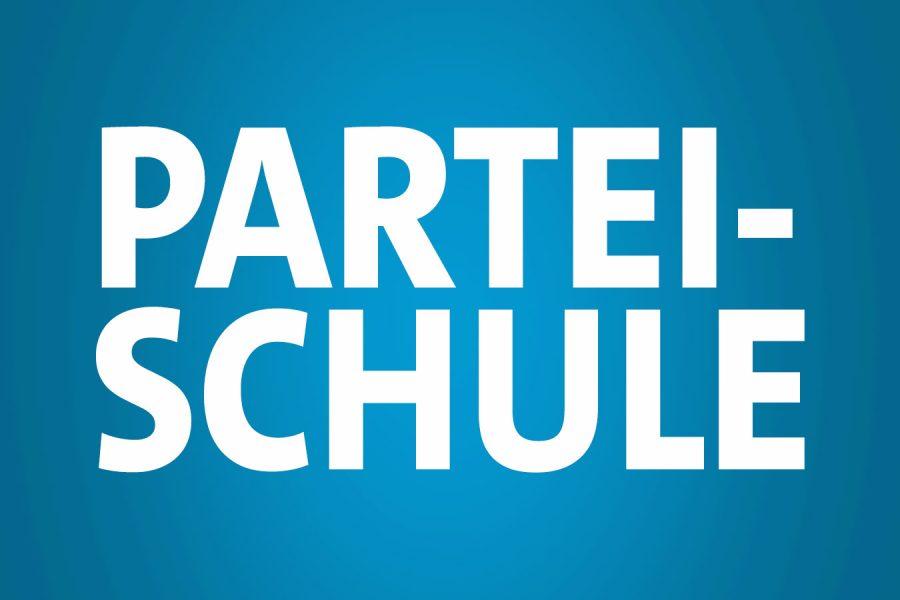 Header für die Parteischule der NRWSPD