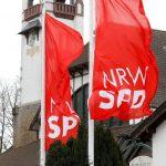 Flaggen der NRWSPD