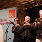 Gruppe Blasmusiker beim politischen Aschermittwoch 2019