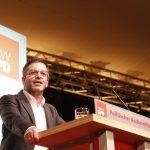 Marc Herter bei seiner Rede am politischen Aschermittwoch 2019 in Schwerte
