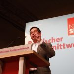 Sebastian Hartmann bei seiner Rede am politischen Aschermittwoch 2019 in Schwerte